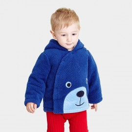 Pepevega Bear Style Thick Blue Jacket (A54ZF183)