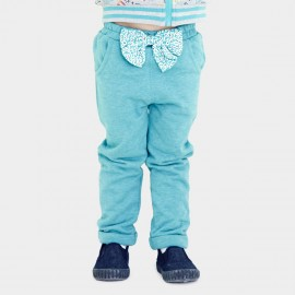 Pepevega Big Bow Cotton Green Pants (A54ZK219)
