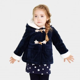 Pepevega Fleece-lined Toggle Navy Jacket (A54ZM854)