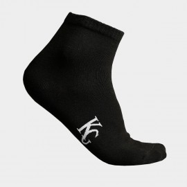 KUEGOU Soft Quarter Black Socks (KS-03)