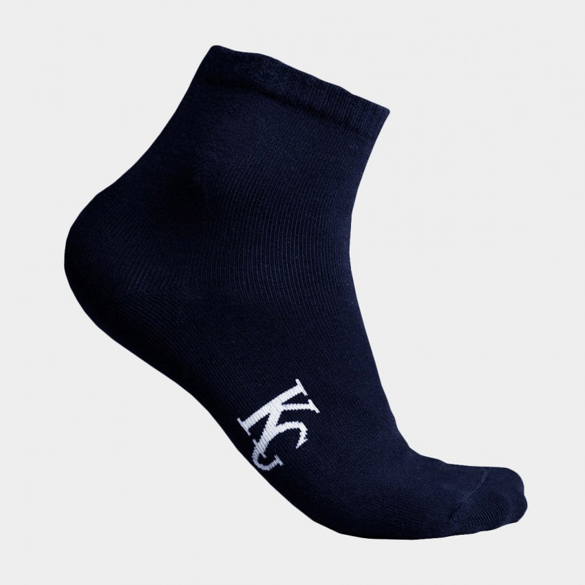 KUEGOU Soft Quarter Navy Socks (KS-03)
