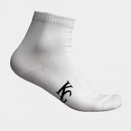 KUEGOU Soft Quarter White Socks (KS-03)