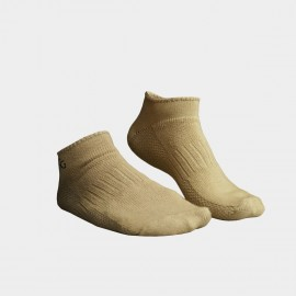 KUEGOU Solid No-Show Apricot Socks (KS-04)