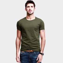 KUEGOU Stretchy Everyday Green Tee (ST-601)