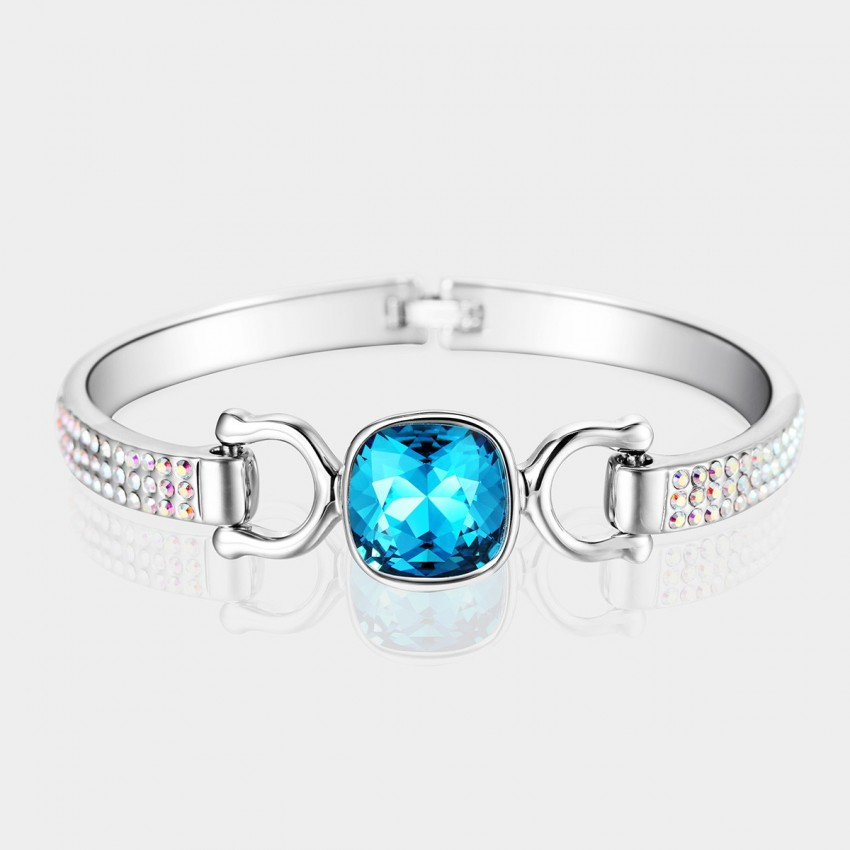 SEVENTY 6 Freehand Color Blue Bracelet (3432)