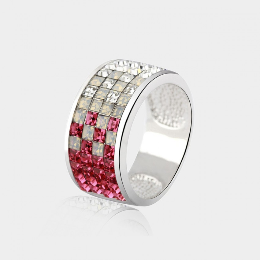 SEVENTY 6 Crystal Essence Red Ring (4081)