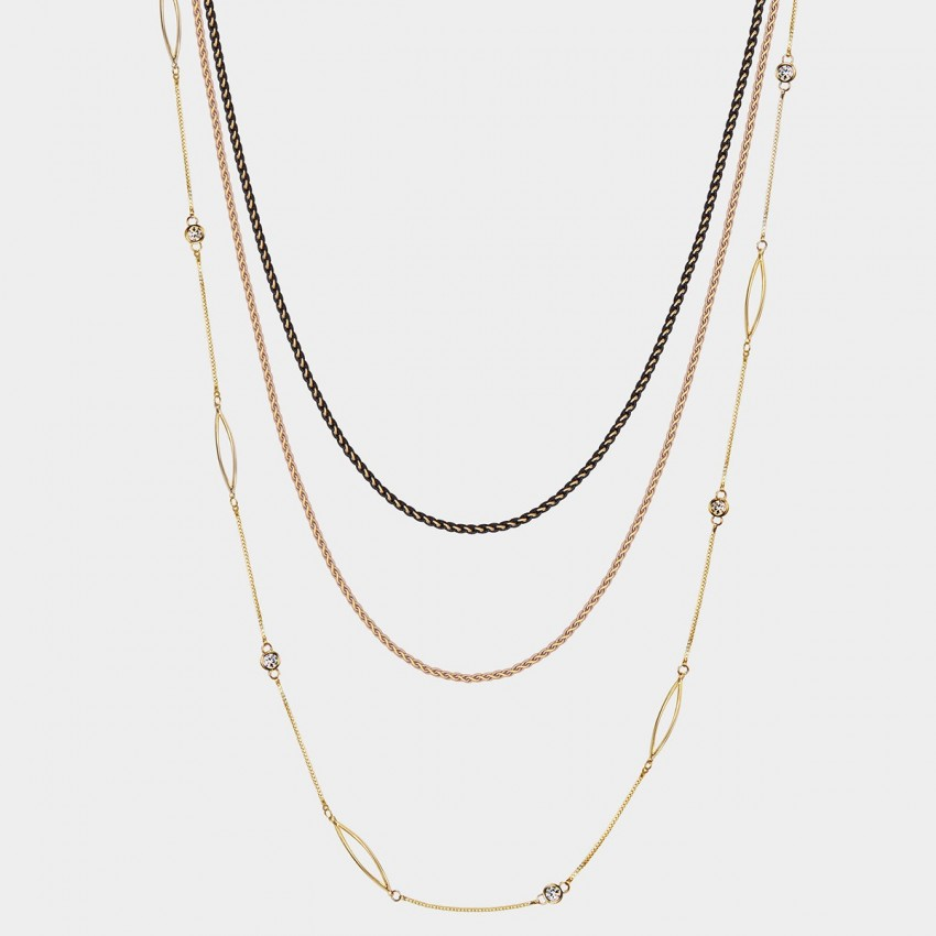 SEVENTY 6 Grand Adventures Gold Long Chain (7248)