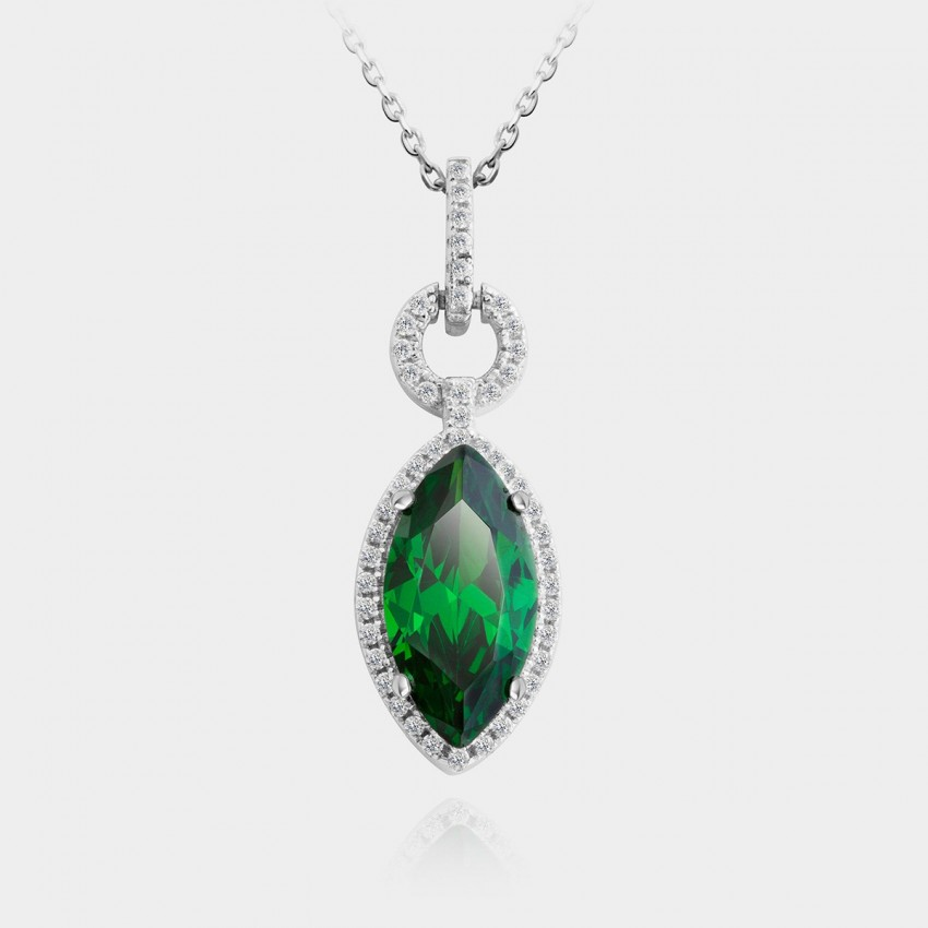 SEVENTY 6 Goddess Of Lives Green Necklace (10668)
