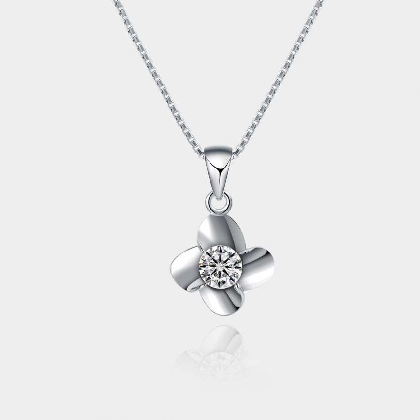 SEVENTY 6 Little Windmill White Necklace (10800)