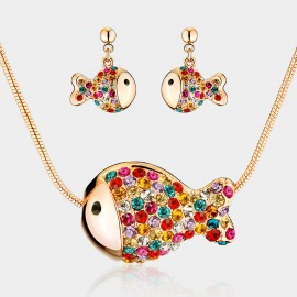 SEVENTY 6 Clownfish K Gold Rainbow Set (1263-2180)