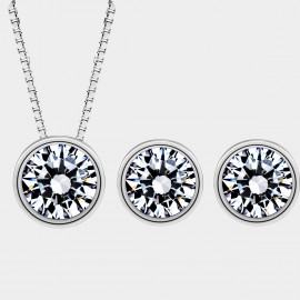 SEVENTY 6 Diamonte Star White Set (1868-8209)