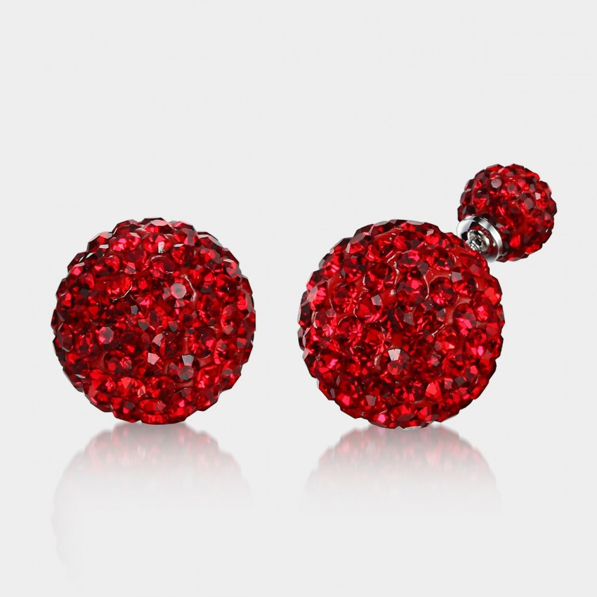Caromay Monster Beads Red Earrings (E0947)