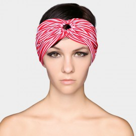 Balneaire Retro Ring Wide Strip Hair Band (30143)