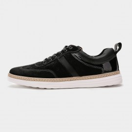Herilios Uptown Sharp Piano Black Sneakers (H6105D02)