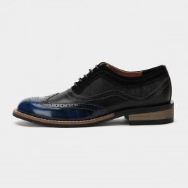 Herilios Tri Ultra Chic Leather Blue Lace Up (H6105D50)