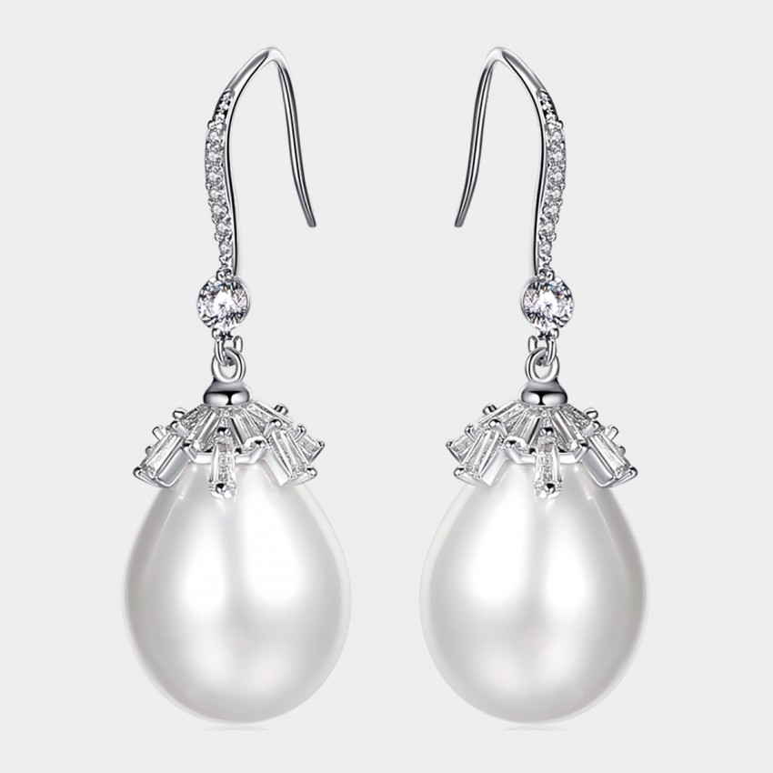 Caromay Canopy Silver Earrings (E1432)