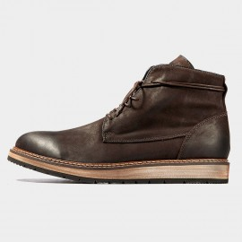 Herilios Maple Charm Leather Brown Boots (H6305G97)