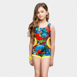 Balneaire Amazing Watery Floral One Piece (260042)