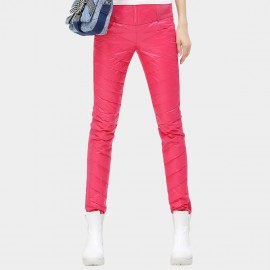 Cocobella Skinny Fit Quilted Rose Pants (PT260)