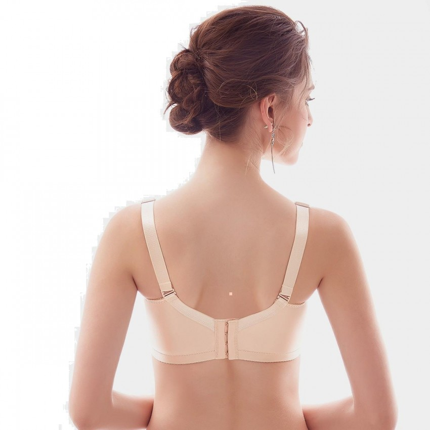 39c5821131 Olanfen Extra Wide Strap Simple T Shirt Convertible Nude Bra (W6032) ...