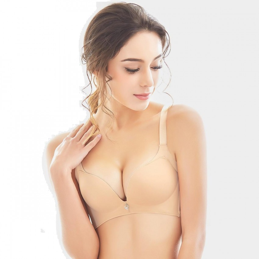 71987ee6ce Olanfen Extended Platforms Push Up Nude Bra (W6060) - 0cm