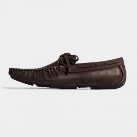 Herilios Light Sole Brogue Butterfly Knots Brown Lace-Up (H7105D78)