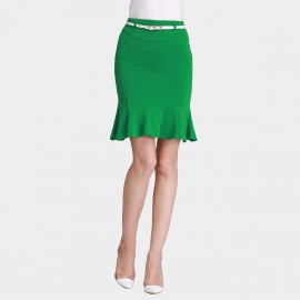SSXR Trumpet Bottom Body Con Green Dress (5244)