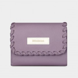 Dreabassa Delicate Crafted Style Purple Wallet (DR97)