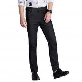 Qzhihe High Waist Black Jeans (HMN7719)