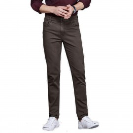 Qzhihe Modern Coffee Jeans (HMN9958)