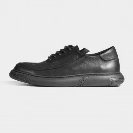 Herilios Wingtip Black Sneakers (H7105D15)