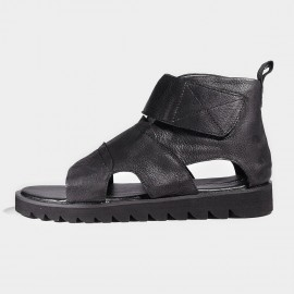 Herilios Monkstrap Black Sandals (H7105L20)