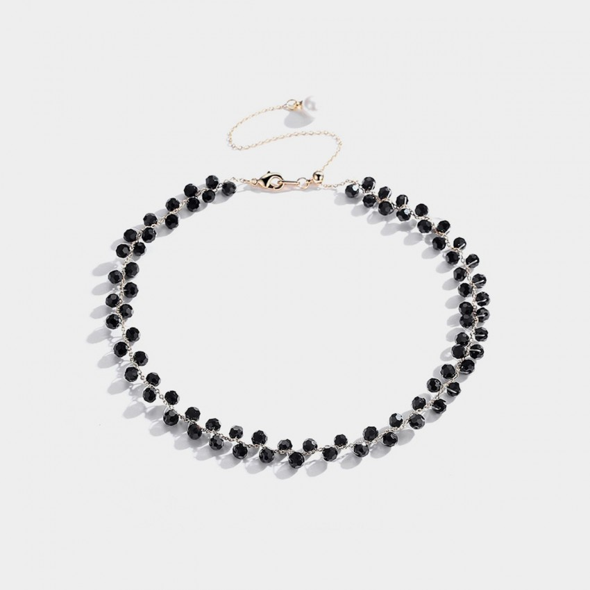 Caromay Celebrity Black Necklace (X1622)
