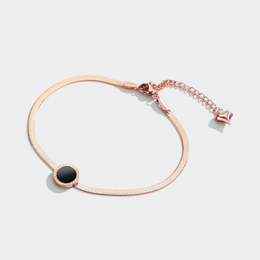 Caromay Foever Love Rose Gold Anklet (H0268)