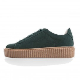 Superelephant Comfortable Green Sneakers (1986-6)