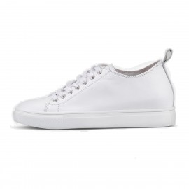 Superelephant Plain White Sneakers (630-210)
