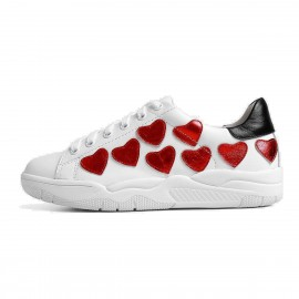 Superelephant Unconditional Love White Sneakers (8709-2)