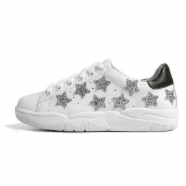 Superelephant Starry White Sneakers (8709-3)