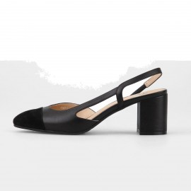 Superelephant Modern Black Pumps (A569-3)