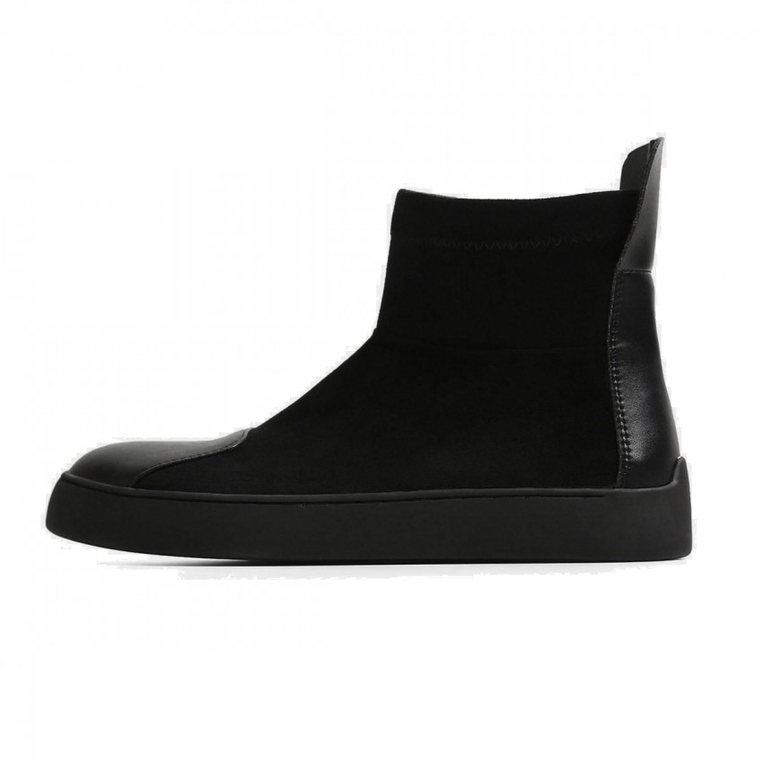 Superelephant Trendy Black Boots (AKDA1501-S6)