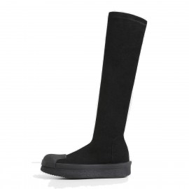 Superelephant Knee Length Black Boots (AKDA6001-S3)