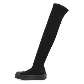 Superelephant Above Knee Length Black Boots (AKDA6001-S5)