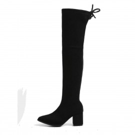 Superelephant Modern Black Boots (AKDA84331-S1)