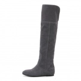 Superelephant Flat Grey Boots (FZ1501)