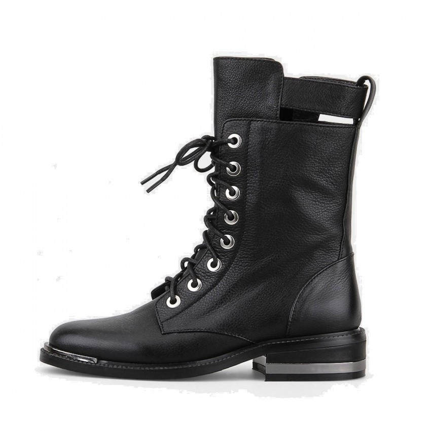 Superelephant Retro Black Boots (G9-22)