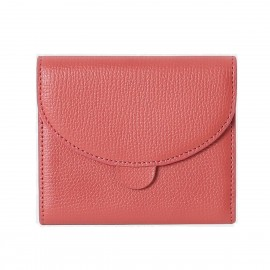 Startown Sweet Stitching Design Short Red Wallet (LD2157)