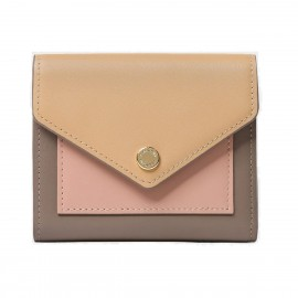 Startown Triple Color Envelope Short Apricot Wallet (LD2163)