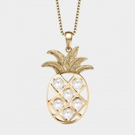 Seventy 6 Amazing Pineapple Gold Long Chain (7579)