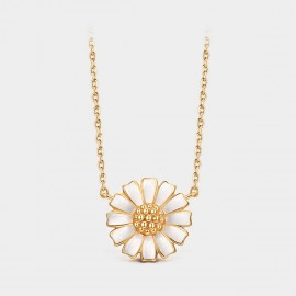 Seventy 6 Blooming Daisy Gold Necklace (B2559)