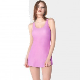 Balneaire Cross-Back Dressy Pink One Piece (60740)